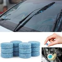 Essuie-glace Fine effervescente comprimés voiture concentré verre eau solide verre nettoyant voiture essuie-glace Agent de nettoyage