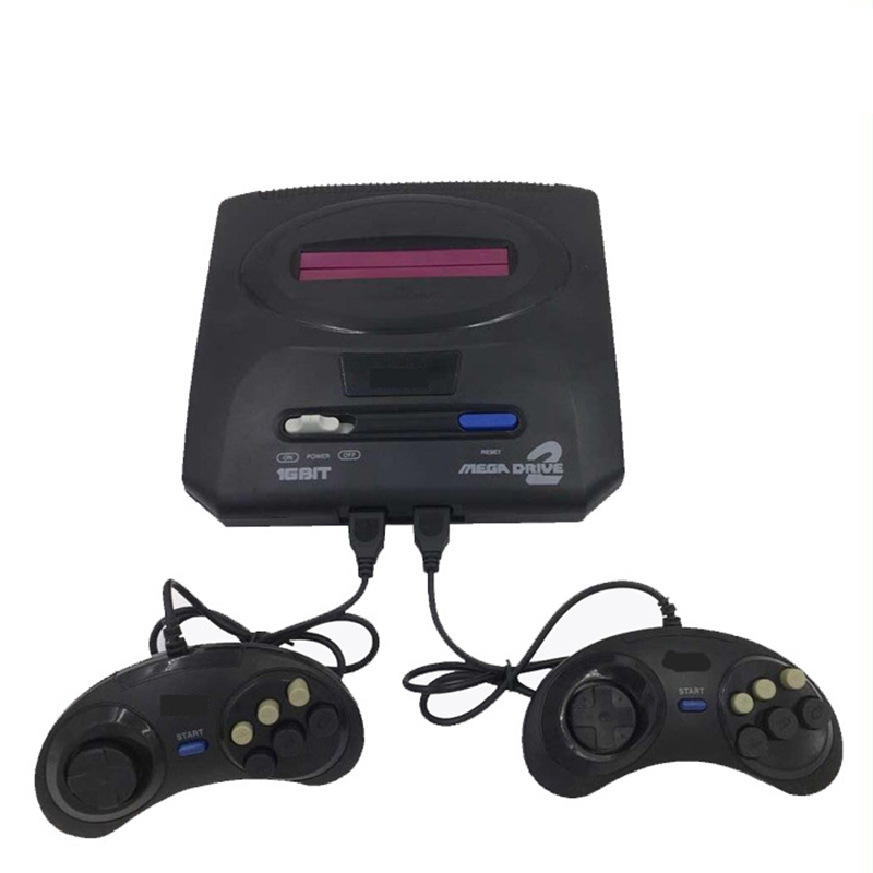Console-Player Sega Mega-Drive Video-Game 16-Bit Retro 2-Controllers Family TV with Md2-Cards
