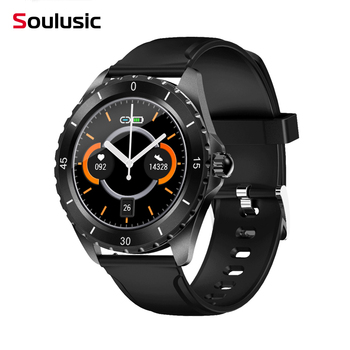 Smart Watch 2020 G18 Full Touch Screen Bluetooth Smartwatch Blood Pressure Heart Rate Monitor Wristband For IOS Android IWO MAX