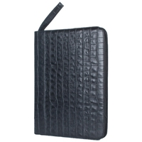 Large Capacity Fountain Pen Case PU Leather Black Color 48 Slots Pen Pouch Bag Pencil Bag