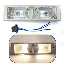 Задняя Внутренняя купольная лампа для чтения лампы для VW Polo для Touran для Jetta для Skoda быстрая для сиденья для Altea серый свет