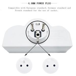 Image 3 - 4.8 Mm Eu Standaard Power Adapter Din Plug 1 Tot 3 Plug 250V Travel Adapter Power Converter Socket