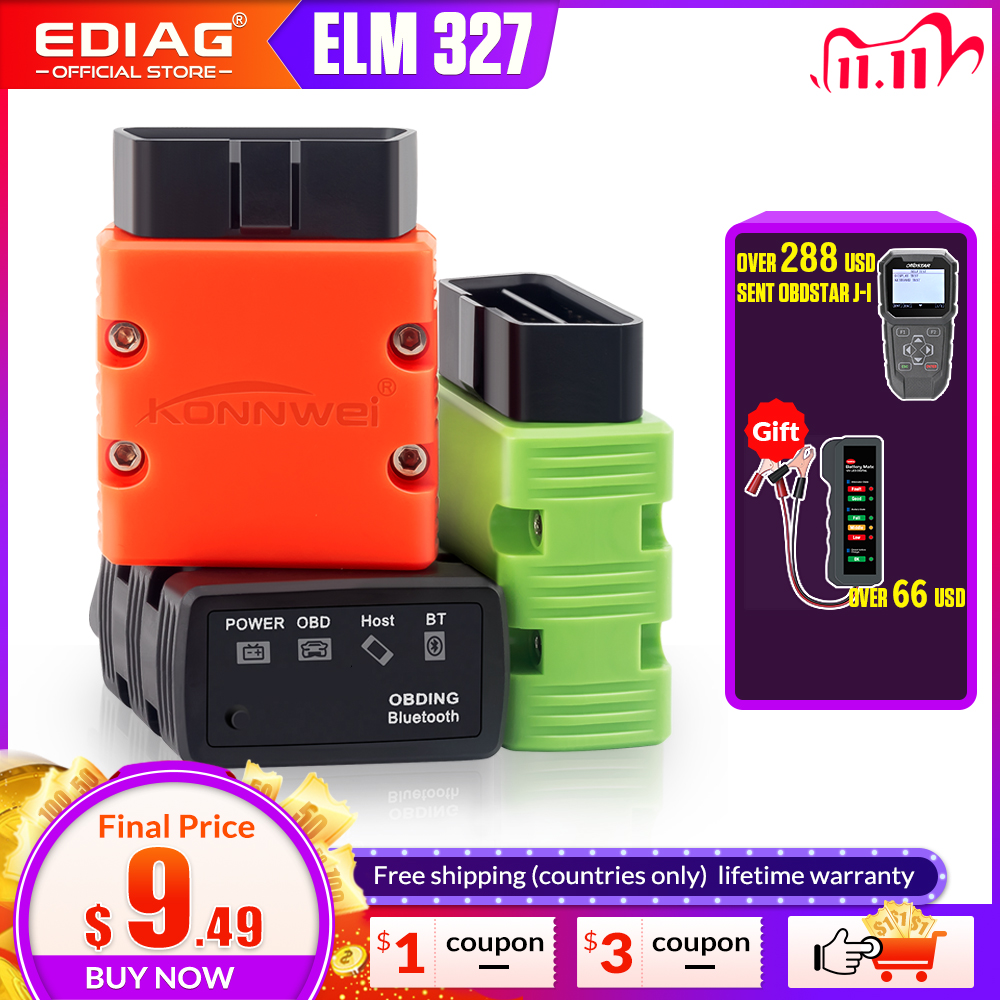 ELM327 V1 5 OBD2 Scanner KW902 P02 Bluetooth WIFI PIC18f25k80 MINI ELM 327 OBDII KW902 Code Reader for Android Phone