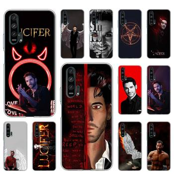Перейти на Алиэкспресс и купить Чехол для Huawei Y5p Y6p Y7p Y8p Y8s Y9s Y6 Y7 Y9 Honor 9A 8S 9C 10i 10 20 Lite Pro Coque чехол Lucifer TV Series