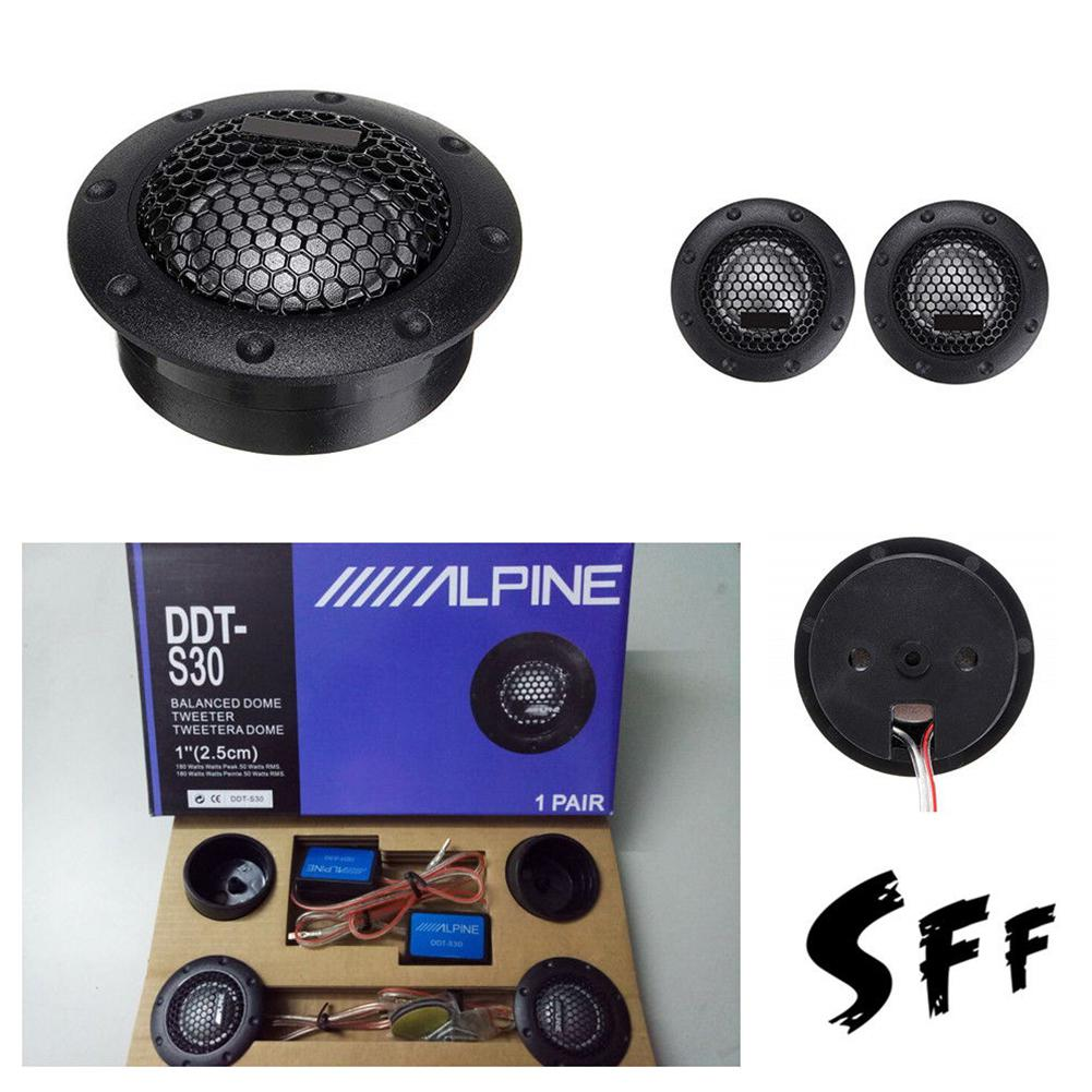 Car Audio Silk Film For Modification 180W 4Ohm High-Pitched Loudspeaker