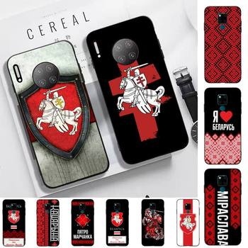 FHNBLJ Belarus flag Phone Case for Huawei Mate 20 10 lite pro X Honor paly Y 6 5 7 9 prime 2018 2019 image