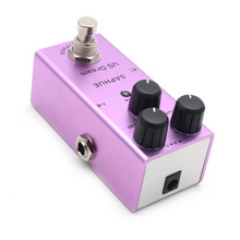 цена на SAPHUE Electric Guitar US Dream Distortion Pedal Volume/Dist/Tone Knob Effect Pedal Mini Single Type DC 9V True Bypass