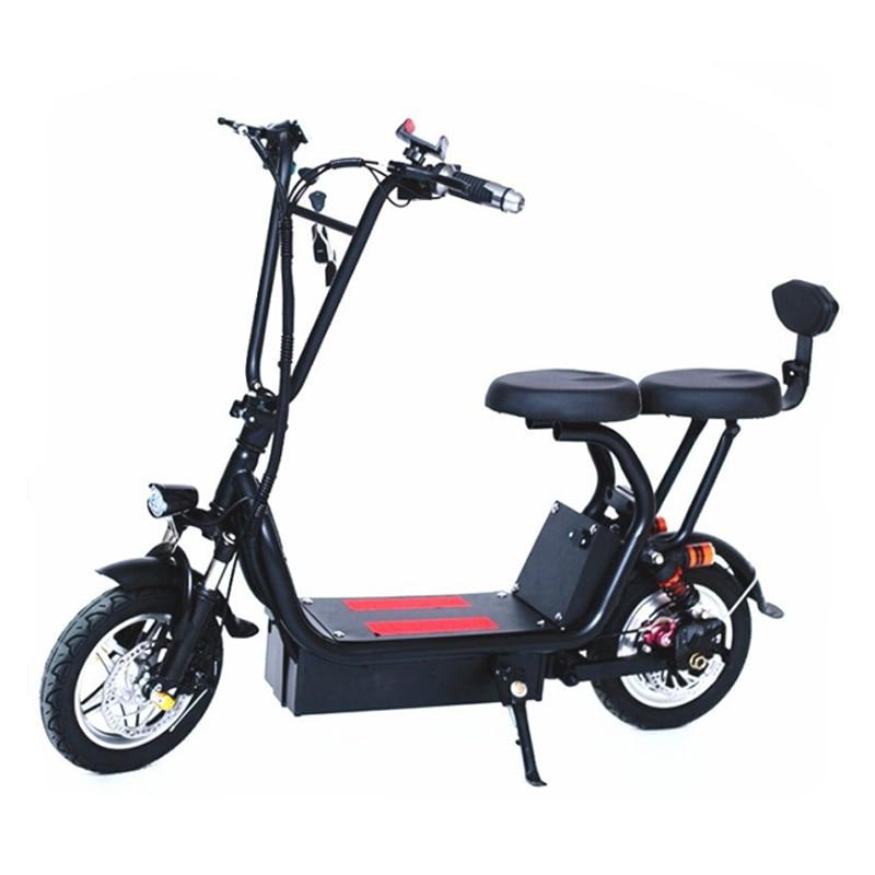 12 Pouces Vélo électrique Scooter électrique Mini Deux Rond Vélo Pliant Batterie Au Lithium Vélo Adulte Pédale 12 Pouces Petit Vélo électrique Aliexpress