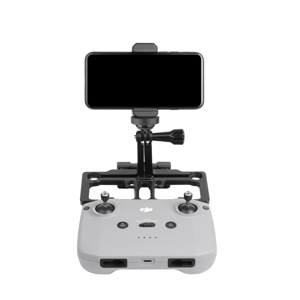 Smartphone Tablet Monitor Holder Mavic Mini Air 2 Pro Spark Dron Remote Control Bracket Stand with Sun Hood for DJI Drones (stand with sun hood)