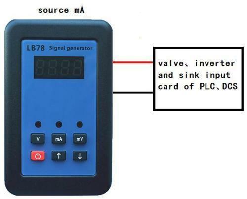 2019 LB78 4-20mA/0-10 V/mV calibrateur de source de générateur de Signal avec PLC, DCS, ESD - 2