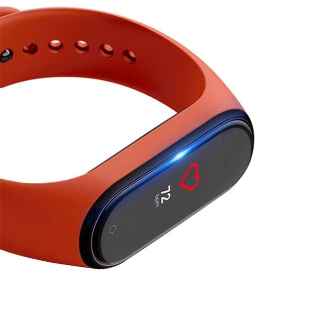 4D protecteur décran pour Xiao mi bande 4 film bracelet mi bande 4 montre intelligente mi bande 4 verre de protection souple complet mi bande 4 Film