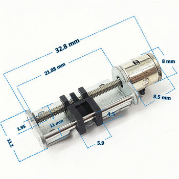 21mm Linear Actuator DC 3V 5V  Stepper Motor 2-phase 4-wire Step Precision Screw Slider Nut - sale item Electrical Equipment & Supplies