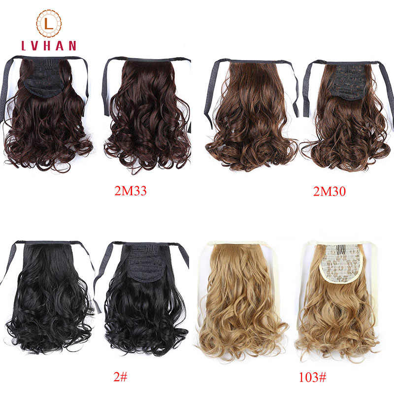 Lvhan Short Clip In Drawstring Curly Ponytail Hair Pieces Heat Resistant Synthetic Hair Tail Horse Tress Short Hair Tails Synthetic Ponytails Aliexpress