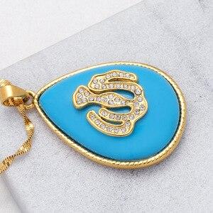 Image 5 - Urkish Lira Coin New Allah Necklaces for Women/Girls Traditional Nation Arab Jewelry Turkey Iraqi Muslim Pendant