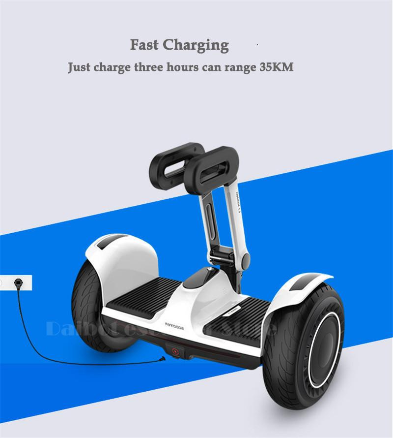 Daibot Portable Electric Scooter Self Balancing Scooters 10 Inch Off Road 250W2 36V Hoverboard For Kids APPBluetooth Speaker   (4)