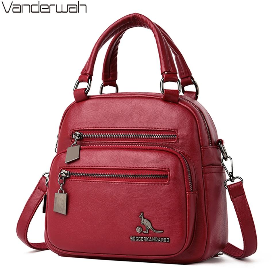 Multifunction Women Small Backpack School Bag For Teenager Girls Travel Backpacks Ladies Shoulder Bag Bagpack Mochila Feminina