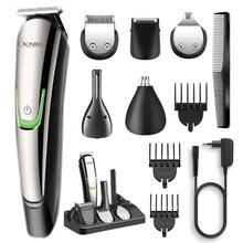 All-in-1 profesjonalny trymer do włosów garnitur elektryczny cliper beard body groomer face trimer zestaw do pielęgnacji ścinanie włosów maszyna strzyżenie tanie tanio CRONIER PROFESSIONAL Multifunctional care Maszynka do włosów