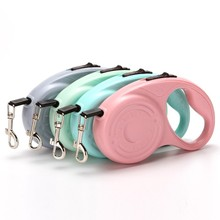 Roulette for retractable dogs Auto leashes 3M / 5M cat dog Collar carries traction rope  small medium large pet accessories