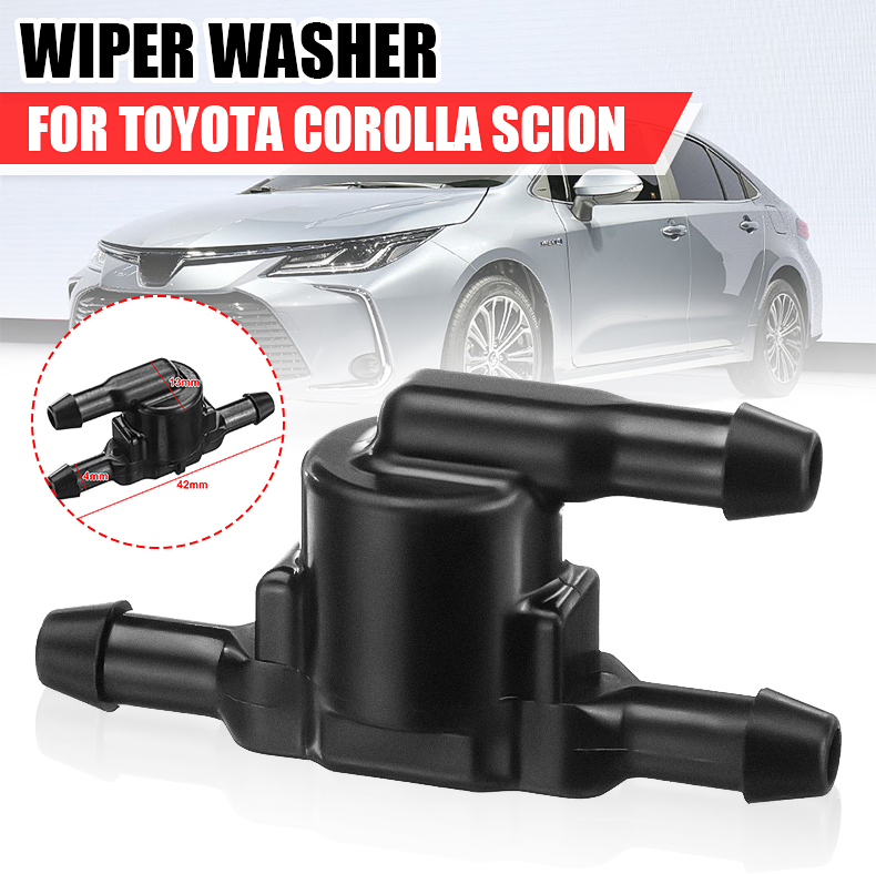 Car Spray Nozzle Wiper Front Windscreen Wipers Windshield Water Washer Valve 8532128020 85321-28020 For Toyota Corolla Scion