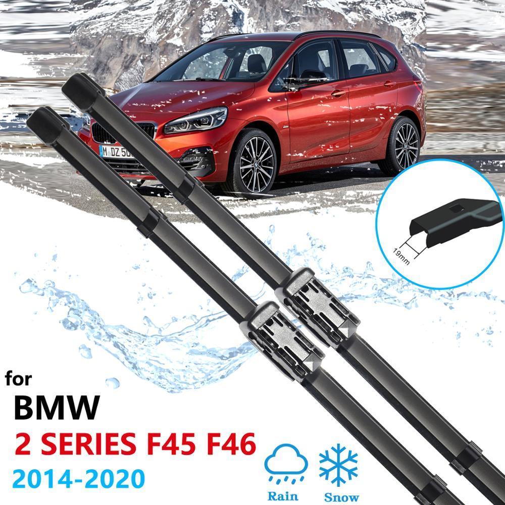 Escovas de carro para BMW Série 2 F45 F46 2014 ~ 2020 Acessórios Do Carro Brisas 216i 218i 220i 225i 225xe 216d 218d 220d