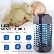 Lampe à tuer les moustiques LED électrique Portable USB moustique insecte tueur lampe mouche Bug répulsif Anti moustique UV veilleuse