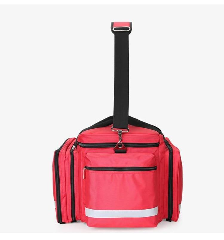 Outdoor First Aid Medical Bag Isolation Multi-pocket Large Storage Portable Cross Emergency Medical Bag Sports Travel Nylon Bag (5)