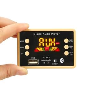 Image 2 - Bluetooth 5.0 MP3 Decoder Decoding Board Module 5 v 12v Car USB MP3 Music Player WMA WAV TF Card Slot USB FM Remote Board Module