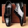 Мужские деловые туфли, коллекция осень-зима 2019, брендовые Свадебные классические туфли, мужские новые туфли с тиснением, черные модные диза...