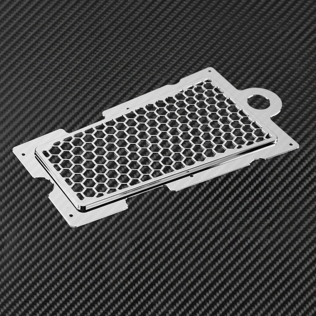 Couvercle de Protection pour Harley Softail Fat Boy   Grille de Protection de radiateur, huile pour moto en nid dabeille, FXLR