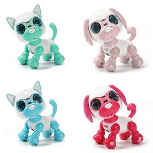 Робот-робот для собак, интерактивный для щенков, подарок на день рождения, рождественский подарок, игрушка для детей