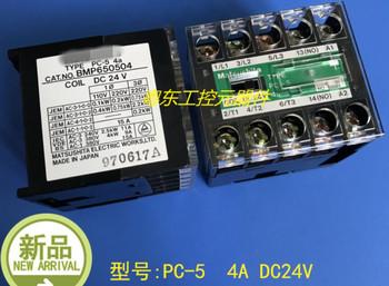 PC-5 4A DC24V BMP650504 marki nowy oryginał tanie i dobre opinie BINYEAE
