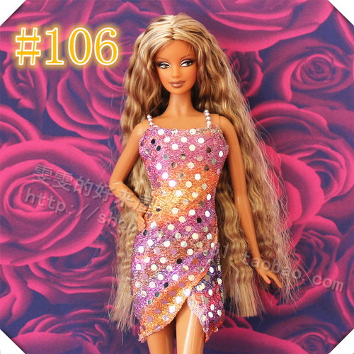 30cm Doll Dress Fashion Clothes handmade outfit For Barbie Doll Accessories Baby Toys Best Girl' Gift 10