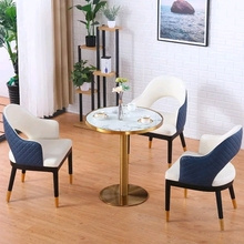 Chair Reception-Table Chinafurniture Chair-Combination Marble Luxury And Light Discussion