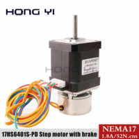 42byg 6401 with brake 70N.CM 42 large torque with band brake 60mm long