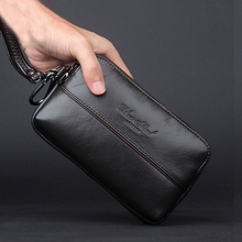 CHEER SOUL Genuine Leather Men Day Clutch Bag Luxury Handbags Fashion Ladies Party Clutch Purse Female Waist Bag Wallets Bags