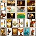 [YZFQ] бельгийские пивные оловянные знаки табличка Металлическая лампа для бара домашний паб искусство Кухня барбекю Ресторан Декор 30x20 см