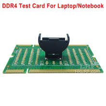 DDR4 New Laptop Notebook Memory Slot DDR4 Test Card SO UDIMM Out LED Tester Motherboard Repair Tester DDR4