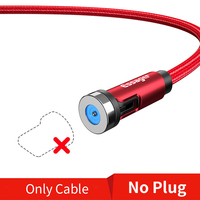 R No Plug Only Cable