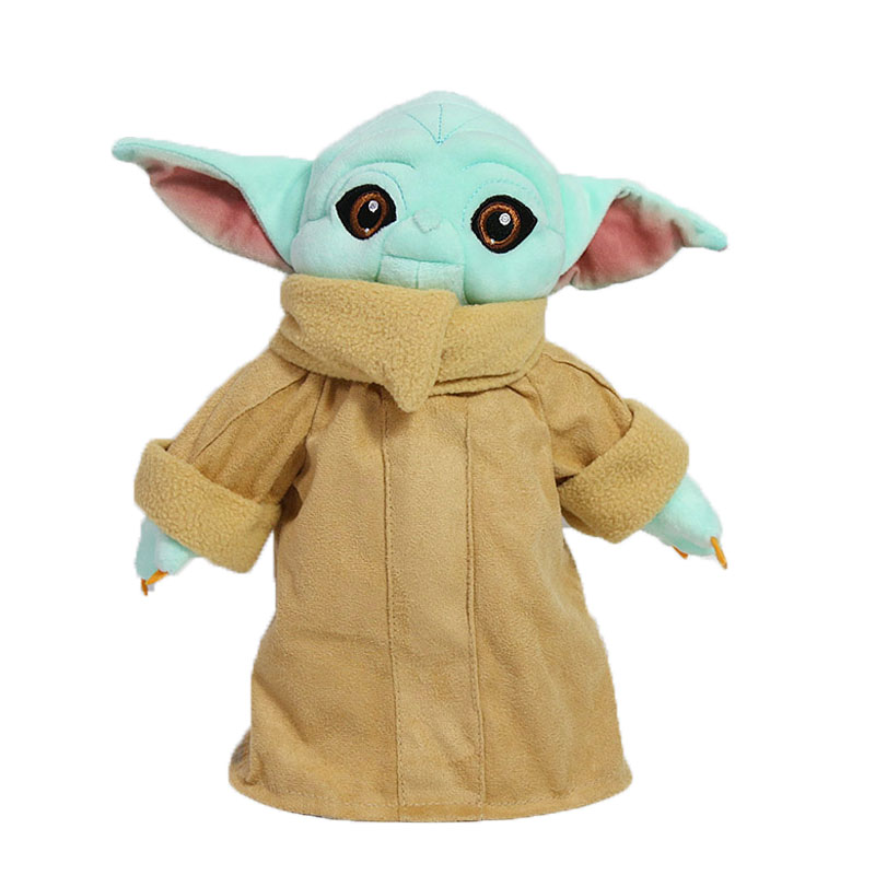 2020 12inch Baby Yoda Plush Toys Soft Stuffed Animals Dolls For Kids Ages 3 And Up The Blue Child Yoda Character