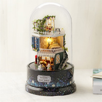 Sky City DIY Music Box Girl'S Birthday Gift Special for a Girlfriend Hand