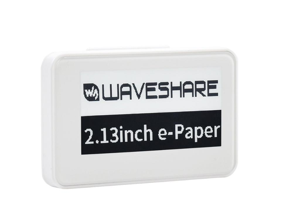 Waveshare 2.13inch Passive NFC-Powered E-Paper, No Battery, Wireless Powering & Data Transfer