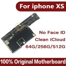 Good tested for iphone XS motherboard without Face ID,Free iCloud for iphone Xs with IOS System Logic board
