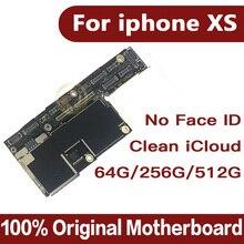 لوحة أم جيدة مختبرة لهاتف iphone XS بدون هوية للوجه ، iCloud مجاني لهاتف iphone Xs مع لوحة منطقية لنظام IOS