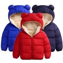 Coat Children Jacket Clothing Fleece Thick Boys Winter Warm for Girls 1-2-4/6-Years Christmas