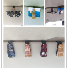 Sunglasses Case Car-Accessories Clip Ticket Auto-Fastener 1PC ABS Atuo