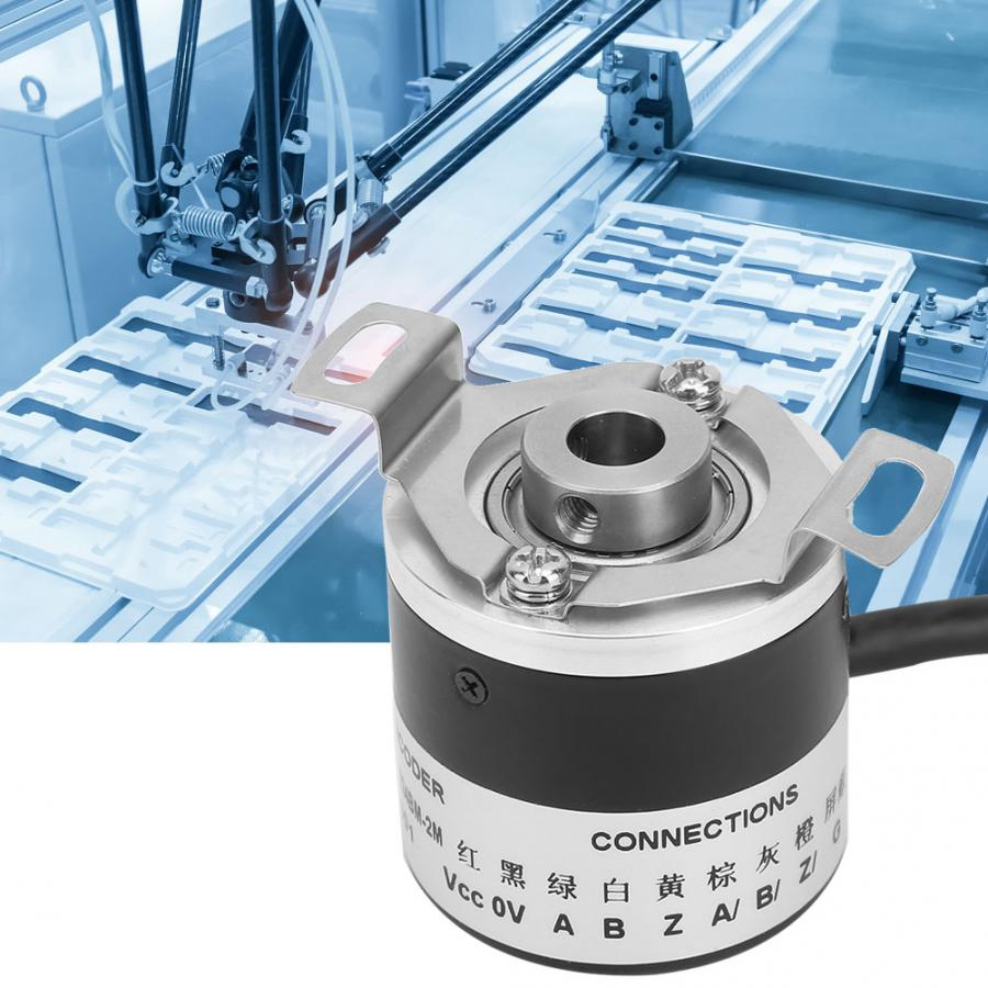 Universal 5V AB Two-phase Signal Encoder DC motor Numerical Control 8mm Spindle Shaft with 2M Cable