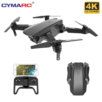 CYMARC M71 4K HD Camera RC Mini Foldable Drone with WIFI FPV Selfie Optical Flow Stable Height Fly Quadcopter RC Helicopter Toy