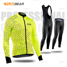 Pro Team Long Sleeve Jersey Set Cycling Clothing Bicycle MTB Clothes Sportswear Wear Triathlon Suit Maillot Ropa Ciclismo autumn 2017 xintown long sleeve bicycle wear cycling jersey sets ropa ciclismo racing wicking sportswear men outdoor pro team clothing