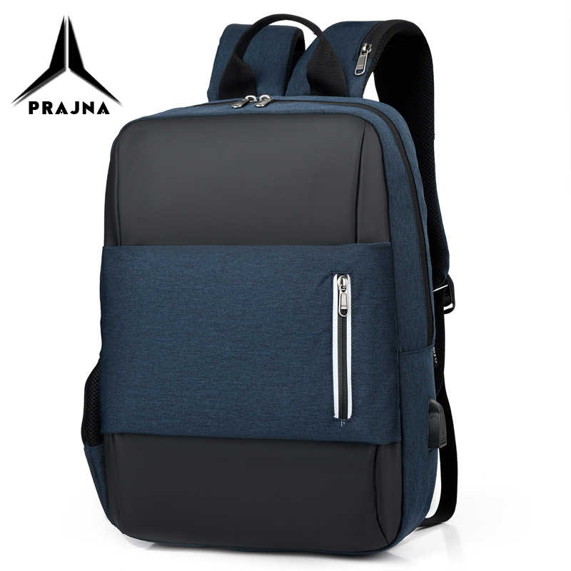 School Backpack Laptop Bags 15.6 Inch A4 Book Waterproof Anti-theft Bagpack Light Notebook Bag For Men Mochila Bagpack PRAJNA