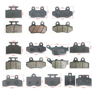 Motorcycle Brakes Front Rear Disc Brake Pads Shoes for 50cc 125cc 150cc 250cc Ktm Taotao Honda CBR CRF CTCT CBX Scooter Moped(China)